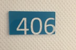 Blauer Samstag in Zimmer406